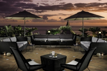 Hotel H10 Playa Meloneras Palace: Terrasse GRAN CANARIA - ILES CANARIES