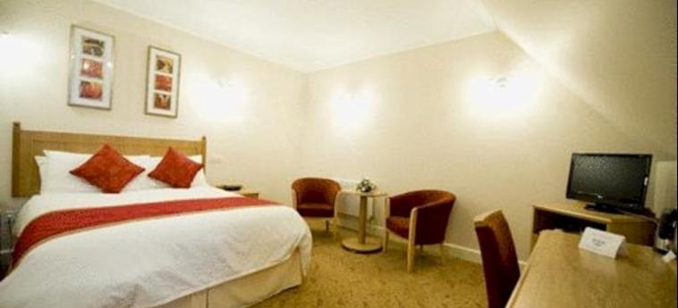 Hotel Stoke Rochford Hall: Chambre Unique GRANTHAM