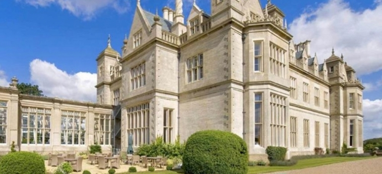 Hotel Stoke Rochford Hall: Cheminée GRANTHAM