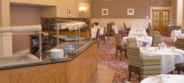 Hotel Stoke Rochford Hall: Restaurant GRANTHAM