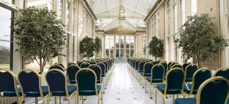 Hotel Stoke Rochford Hall: Salle de Réunion GRANTHAM