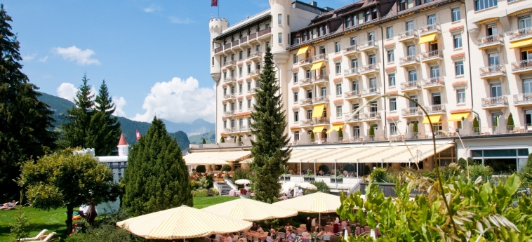 Hotel Gstaad Palace: Esterno GSTAAD