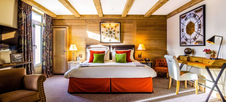 Hotel Gstaad Palace: Chambre Suite GSTAAD