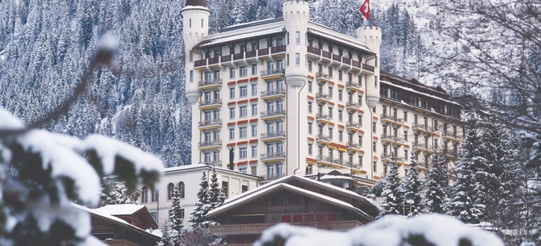 Hotel Gstaad Palace: Exterieur GSTAAD