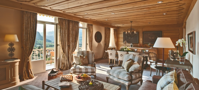 Hotel Gstaad Palace: Living Room GSTAAD