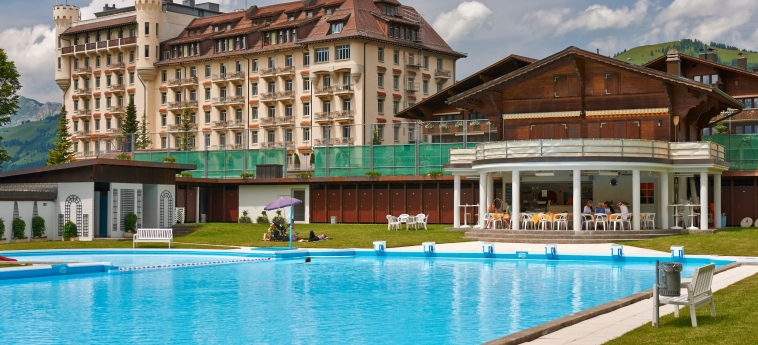 Hotel Gstaad Palace: Piscine chauffée GSTAAD