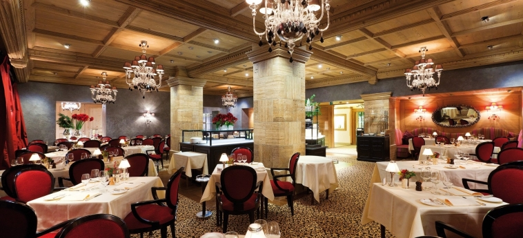 Hotel Gstaad Palace: Restaurant GSTAAD