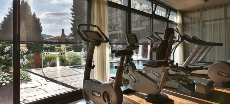 Hotel Gstaad Palace: Salle de Gym GSTAAD