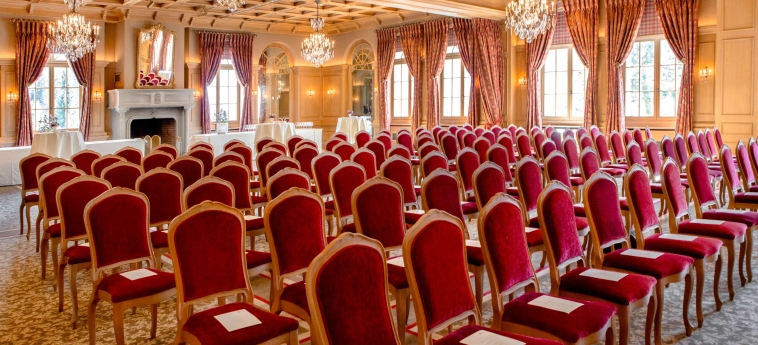 Hotel Gstaad Palace: Salle de Réunion GSTAAD