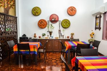 Hotel El Escalon: Desayuno GUAYAQUIL