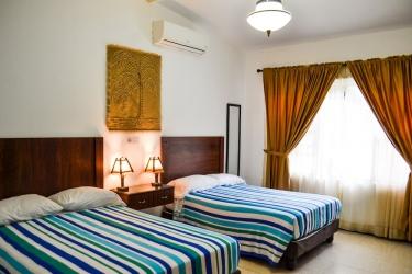 Hotel El Escalon: Vista de la habitación GUAYAQUIL