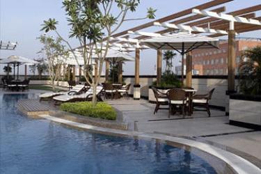 Hotel Park Plaza: Swimming Pool GURGAON