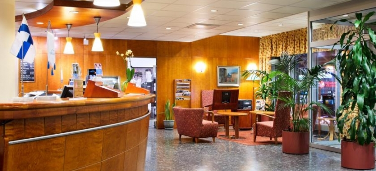 Hotel Scandic Hameelinna City: Lobby HAMEENLINNA
