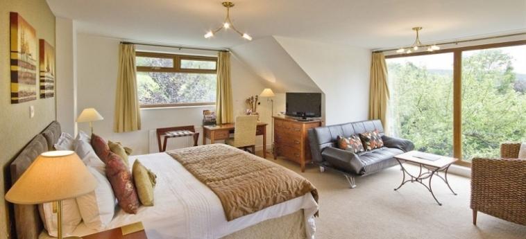 Hotel Tovey Lodge: Jardín HASSOCKS