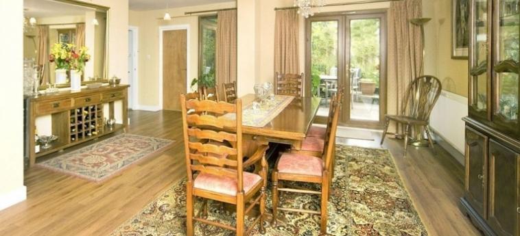 Hotel Tovey Lodge: Sala de Desayuno HASSOCKS