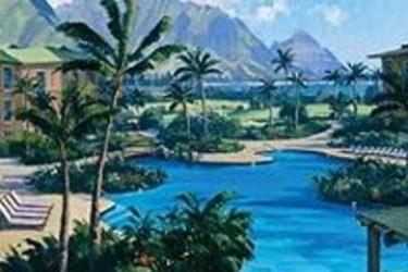 Hotel The Westin Princeville Ocean Resort Villas: Outdoor Swimmingpool HAWAII - KAUAI (HI)