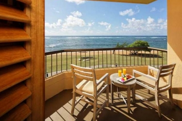 Hotel Courtyard By Marriott Kauai Coconut Beach: Balcony HAWAII - KAUAI (HI)