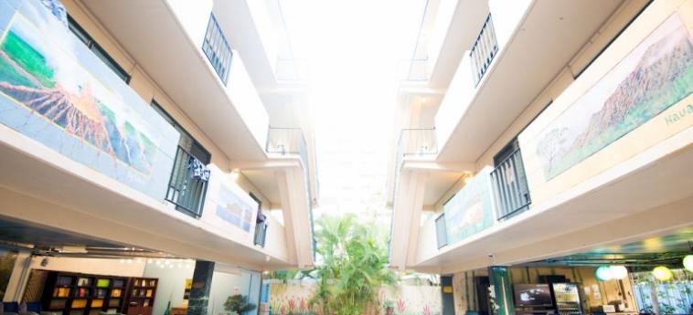 Waikiki Beachside Hostel: Chambre jumeau HAWAII - OAHU (HI)