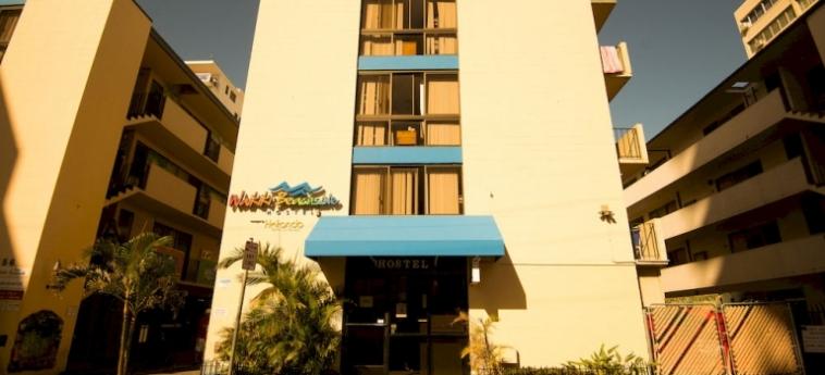 Waikiki Beachside Hostel: Terrain de Foot HAWAII - OAHU (HI)
