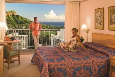 Hotel Alohilani Resort Waikiki Beach: Schlafzimmer HAWAII - OAHU (HI)
