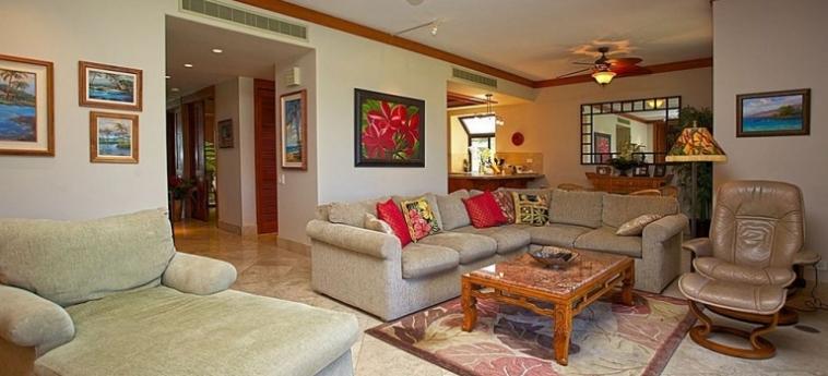Hotel Mauna Lani Terrace Condominium: Living Room HAWAII'S BIG ISLAND (HI)