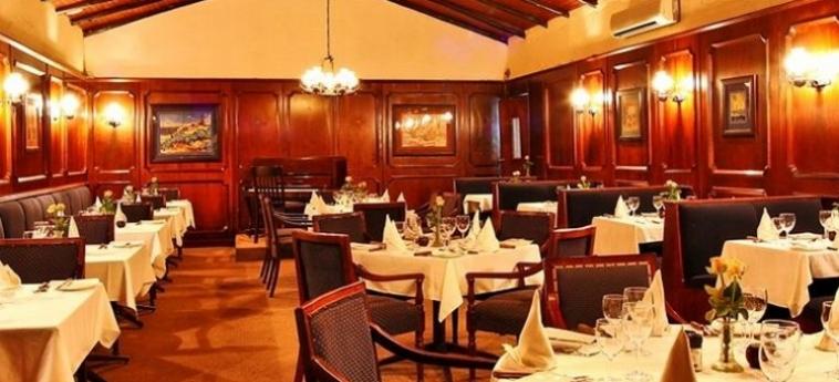 Hotel Numbi And Garden Suites: Restaurante HAZYVIEW