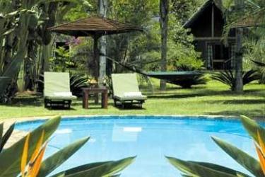 Hotel Hippo Hollow: Swimming Pool HAZYVIEW