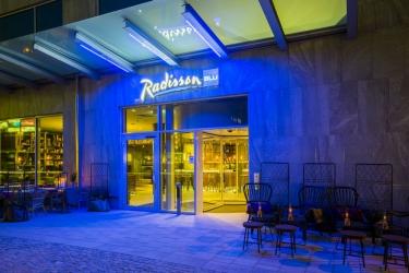 Radisson Blu Metropol Hotel, Helsingborg: Eingang HELSINGBORG