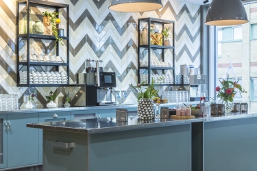 Radisson Blu Metropol Hotel, Helsingborg: Breakfast area HELSINGBORG