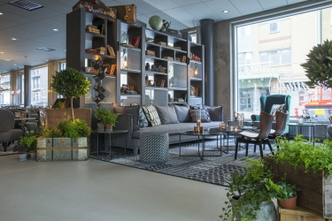 Radisson Blu Metropol Hotel, Helsingborg: Lobby sitting area HELSINGBORG