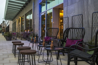 Radisson Blu Metropol Hotel, Helsingborg: Terrace/Patio HELSINGBORG