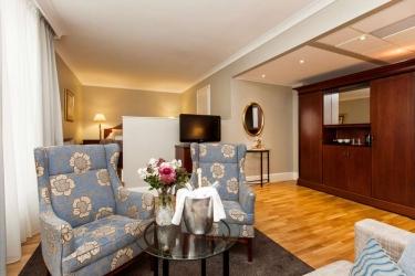 Elite Hotel Mollberg: Gastzimmer Blick HELSINGBORG