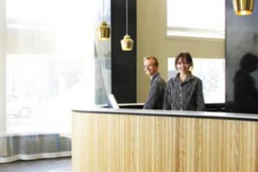 Hotel Helka: Empfang HELSINKI