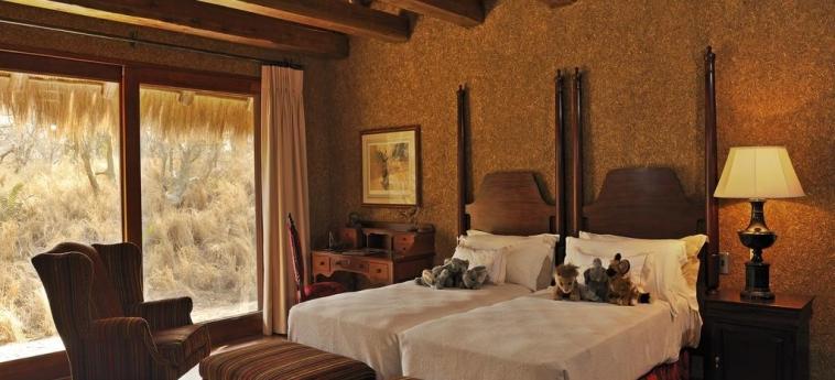 Hotel Camp Jabulani: Doppelzimmer - Twin HOEDSPRUIT