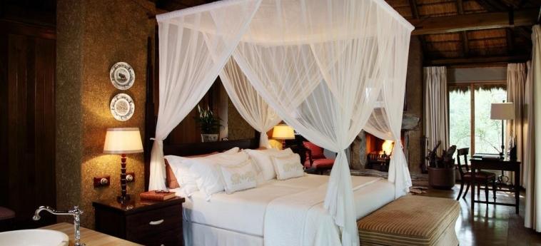 Hotel Camp Jabulani: Doppelzimmer  HOEDSPRUIT