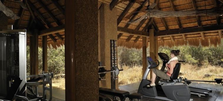 Hotel Camp Jabulani: Fitnesscenter HOEDSPRUIT