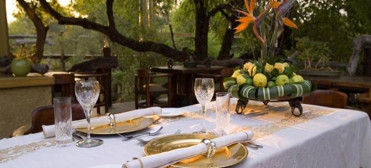 Hotel Camp Jabulani: Restaurant HOEDSPRUIT