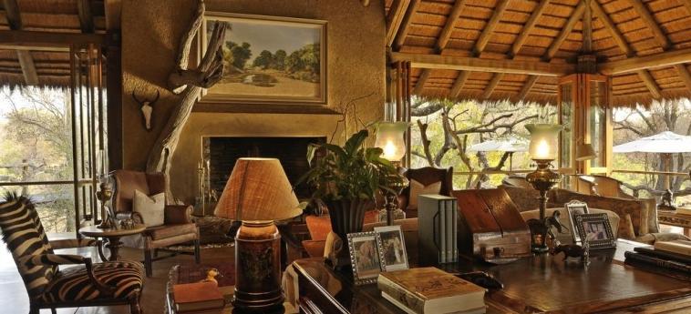 Hotel Camp Jabulani: Salotto HOEDSPRUIT