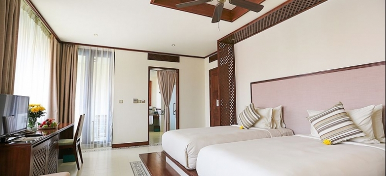 Hotel Almanity Hoi An Wellness Resort : Campo da Tennis HOI AN