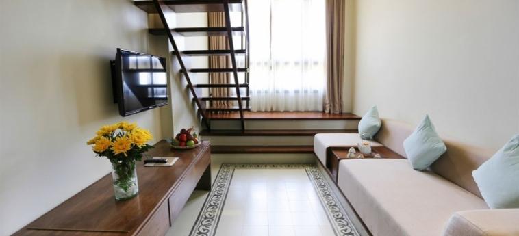 Hotel Almanity Hoi An Wellness Resort : Interno HOI AN