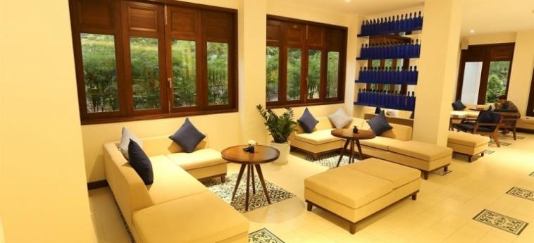 Hotel Almanity Hoi An Wellness Resort : Champ de Golf HOI AN