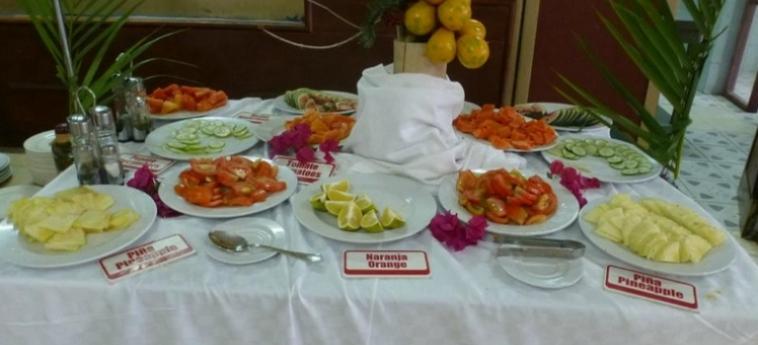 Hotel Islazul El Bosque: Buffet HOLGUIN
