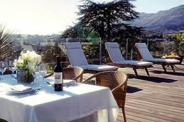 Hotel Jaizkibel: Terrasse HONDARRIBIA