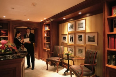 Hotel Peninsula: Centro Affari HONG KONG