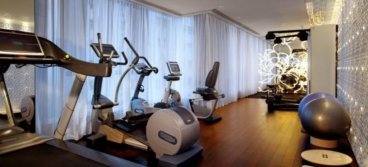 Mira Moon Hotel: Salle de Gym HONG KONG
