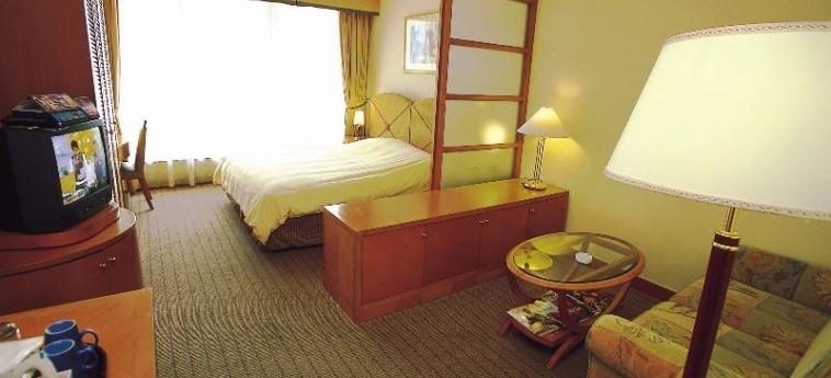 Hotel Harbour Plaza Resort City: Gastzimmer Blick HONG KONG