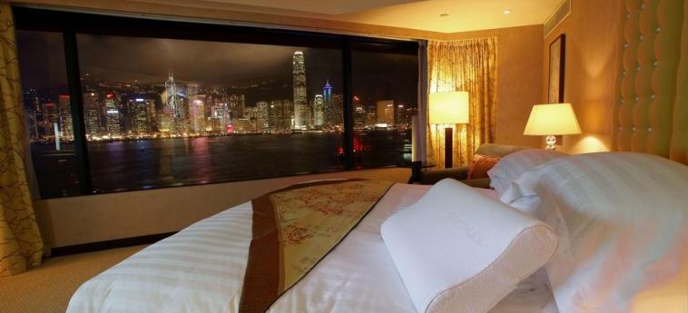 Hotel Intercontinental: Chambre de Luxe HONG KONG
