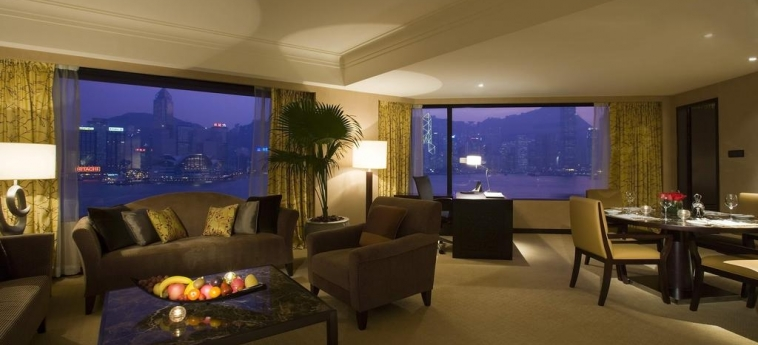 Hotel Intercontinental: Chambre junior Suite  HONG KONG