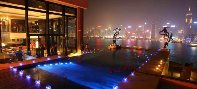 Hotel Intercontinental: Piscine Découverte HONG KONG