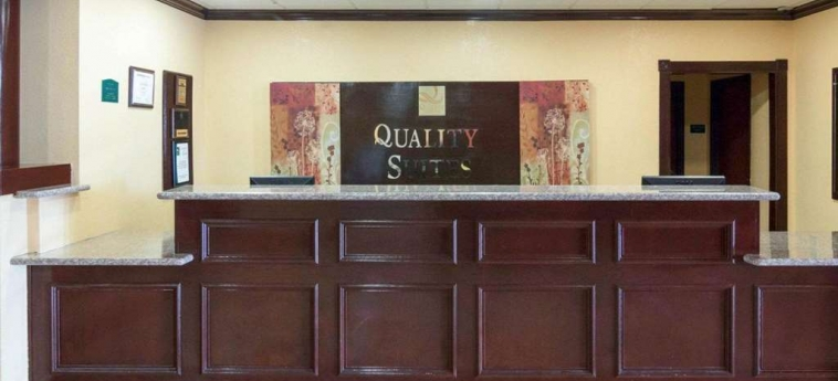 Hotel Quality Suites Bush - Iah Airport West: Lobby HOUSTON (TX)